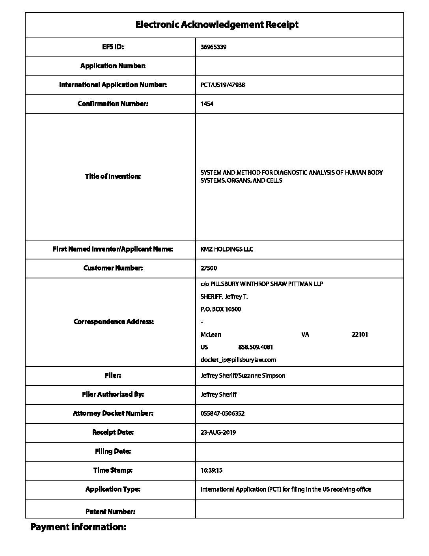 KMZ PCT patent1 pdf - Intellectual Property